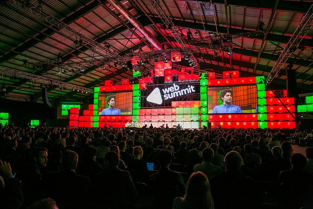 WebSummit main hall